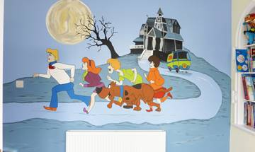 Scooby Do Wall Mural