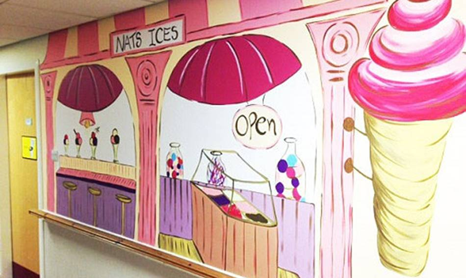 Icecream Shop Mural