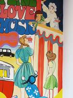Punch And Judy Mural