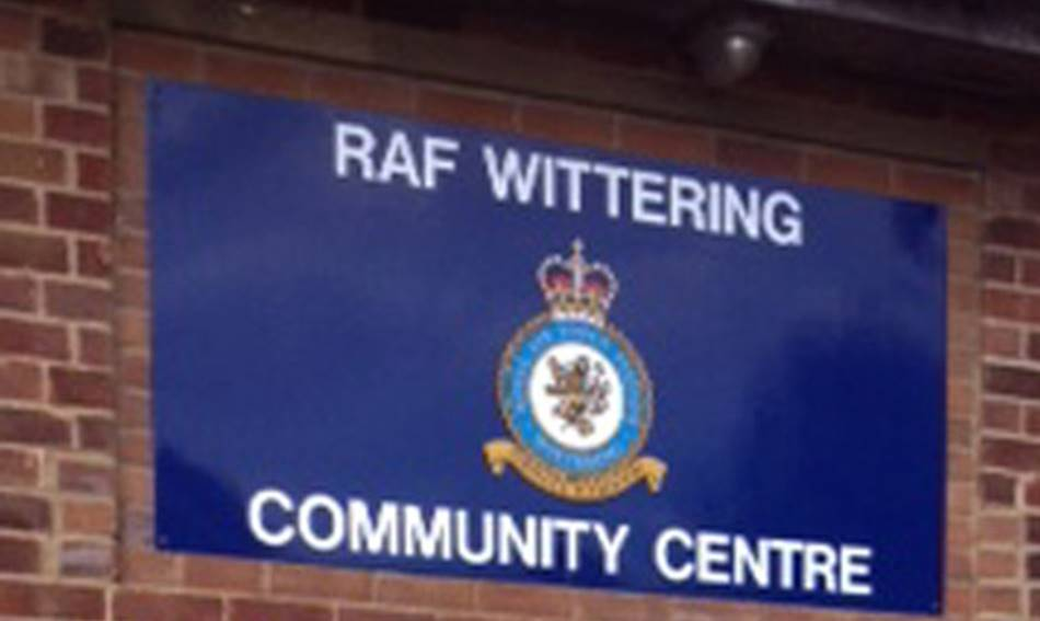Community Centre Sign