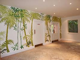 Palm Trees Wall Mural 2