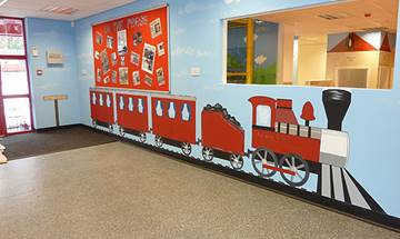Train Station Private Day Nursery, North Manchester – Internal Murals