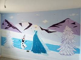 Disney Frozen Wall - Mural