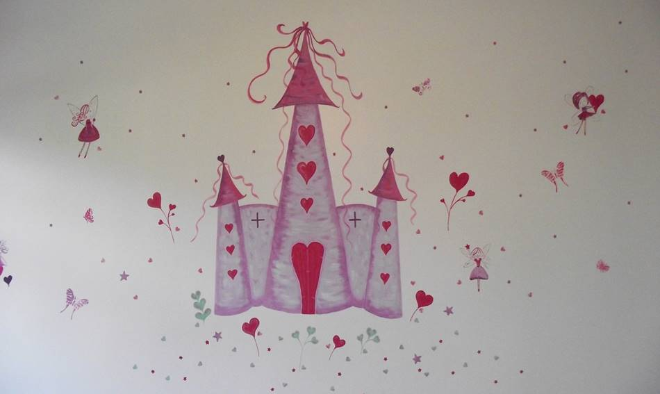Fairy Heart Castle Mural