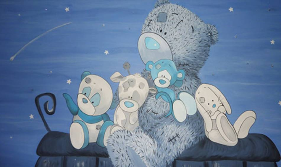 Me To You Teddy - Mural