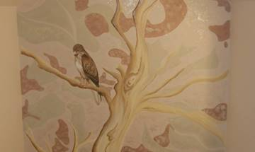 Buzzard Tree Mural