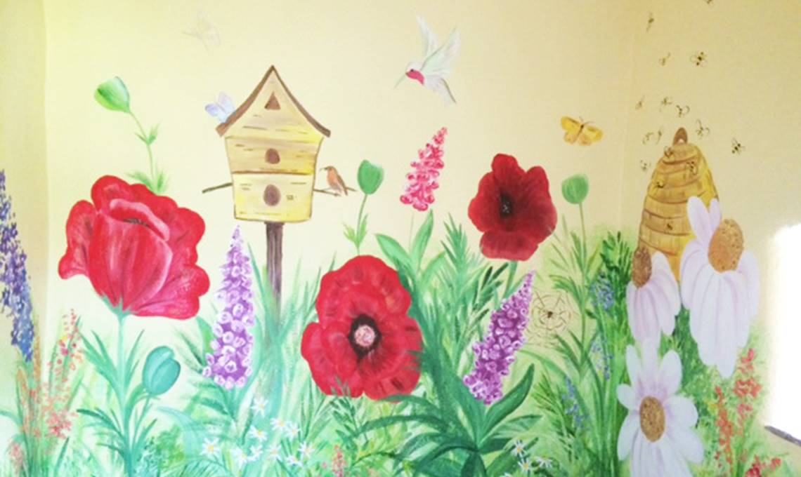 Children's Bedroom Mural Painter