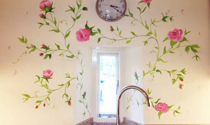 Get a Hand Painted Mural for your New Home by Joanna Perry Cheshire based mural artist