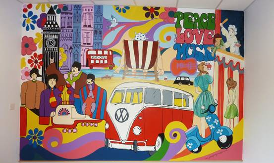 1960's Reminiscence Mural