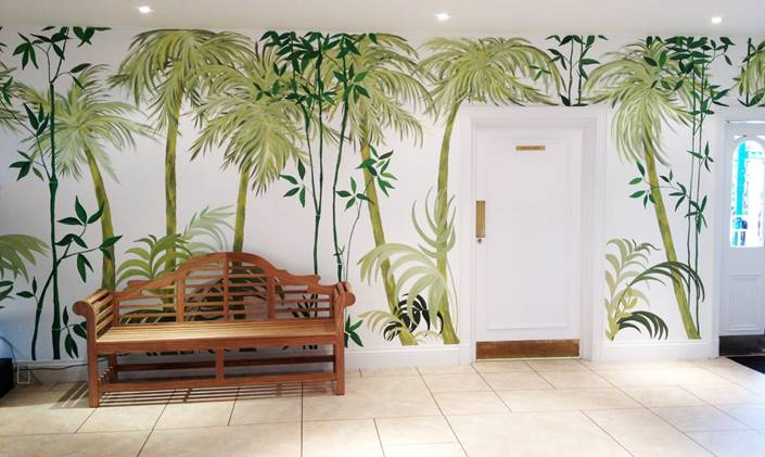 Business Murals by Joanna Perry | mural painter and artist