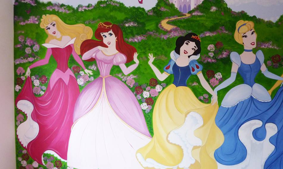 Dancing Princesses Mural