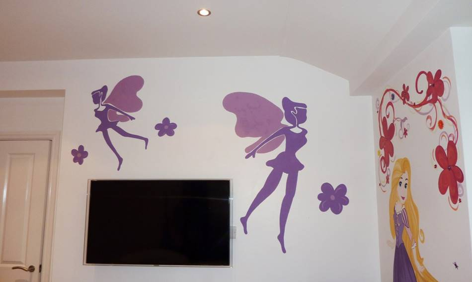 Flying Fairies Mural