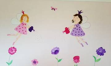 Flower Fairies Mural