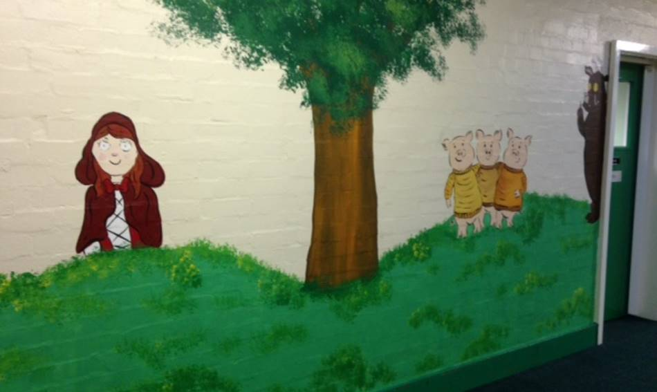 Red Riding Hood Mural