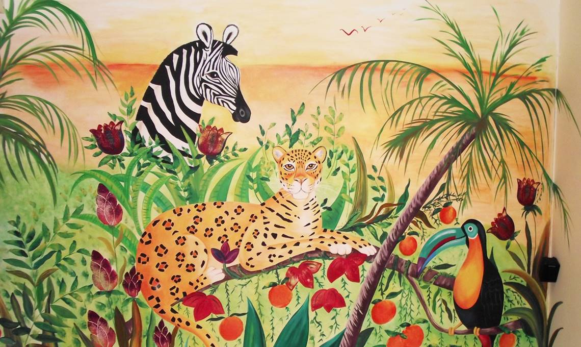 Go Wild For Jungle Murals