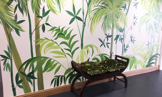 Orchard View Care Home Wall Mural Scheme