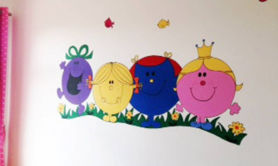Mr Men & Little Miss Mural