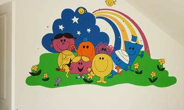 Little Miss & Mr Men Murals