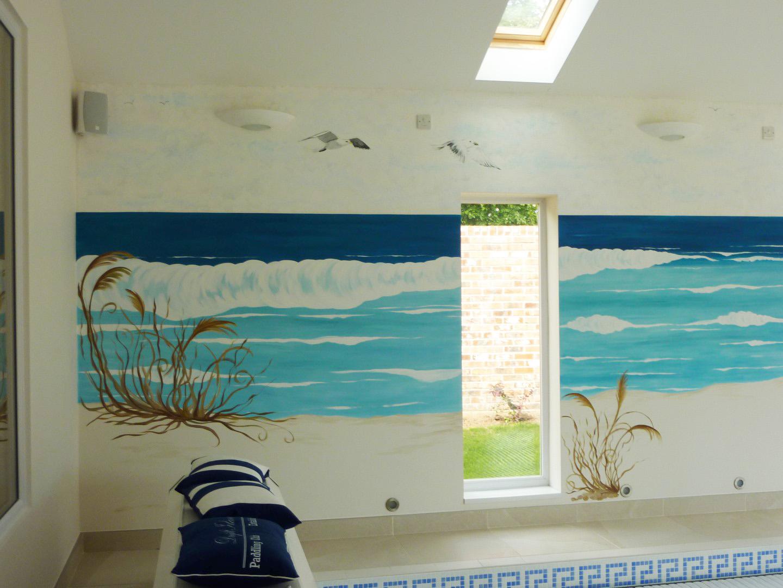 Ocean Beach Wave Mural
