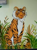 Jungle Tiger Wall Mural