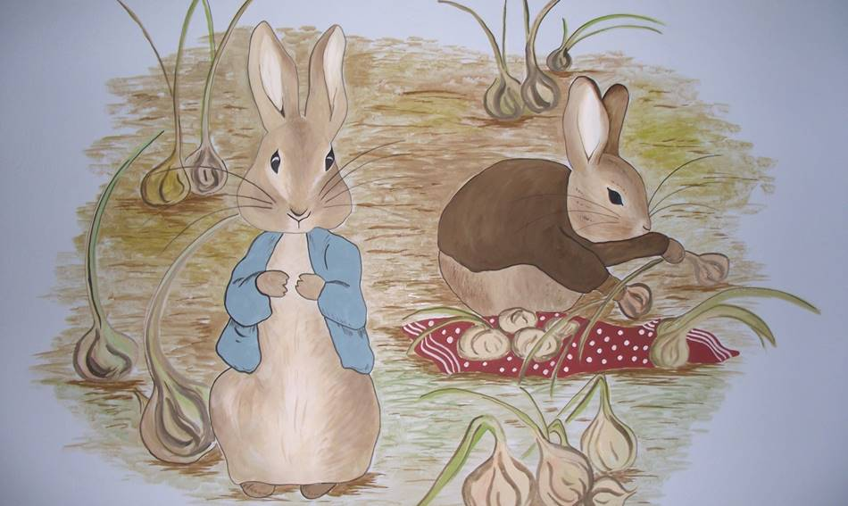 Peter Rabbit Mural (2)