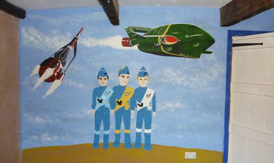 Thunderbirds Mural