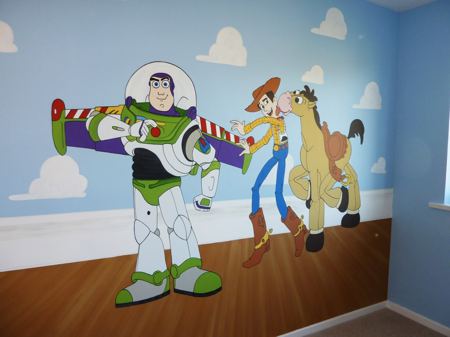 Disney Toy Story Mural Part 96