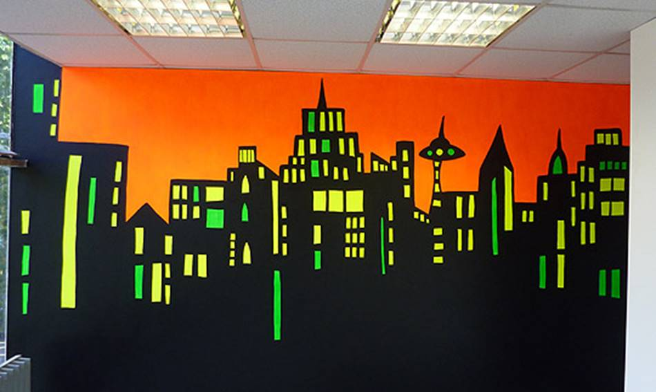 Glow In The Dark Mural