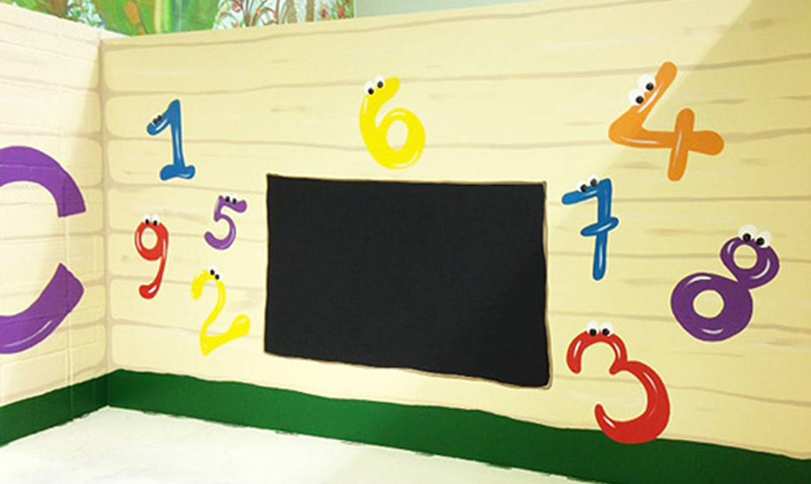 Murals for Soft Play Centres