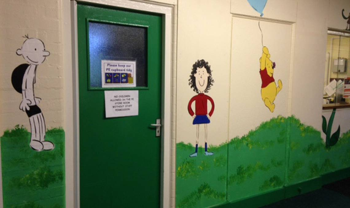 Wall Murals for Schools