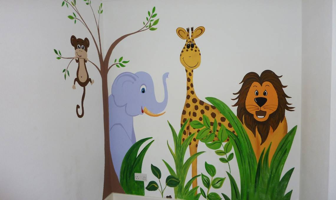 Mural Ideas for Your New Baby's Nursery