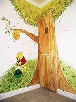 Winnie And Honey Pot Mural