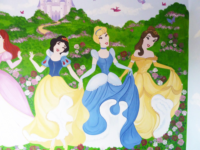 Disney Princess Wall Mural (1) Part 91