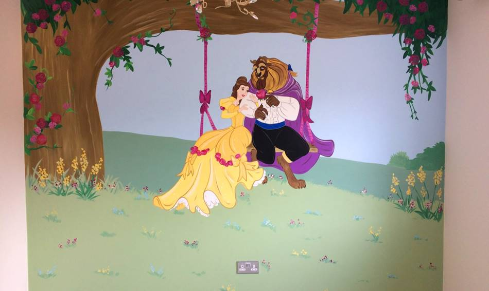 Disney Beauty & The Beast Mural.jpg