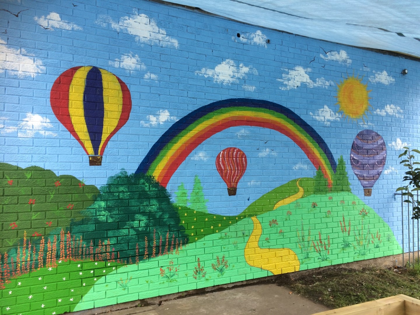 Ppg Colourful Communties Outdoor Mural Project Experienced Mural