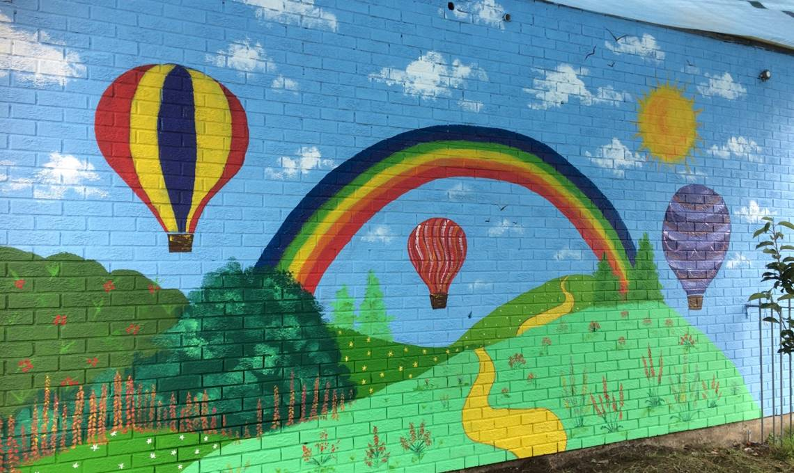 PPG Colourful Communties Outdoor Mural Project