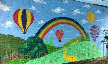 FieldHead & Birstall Outdoor School Murals
