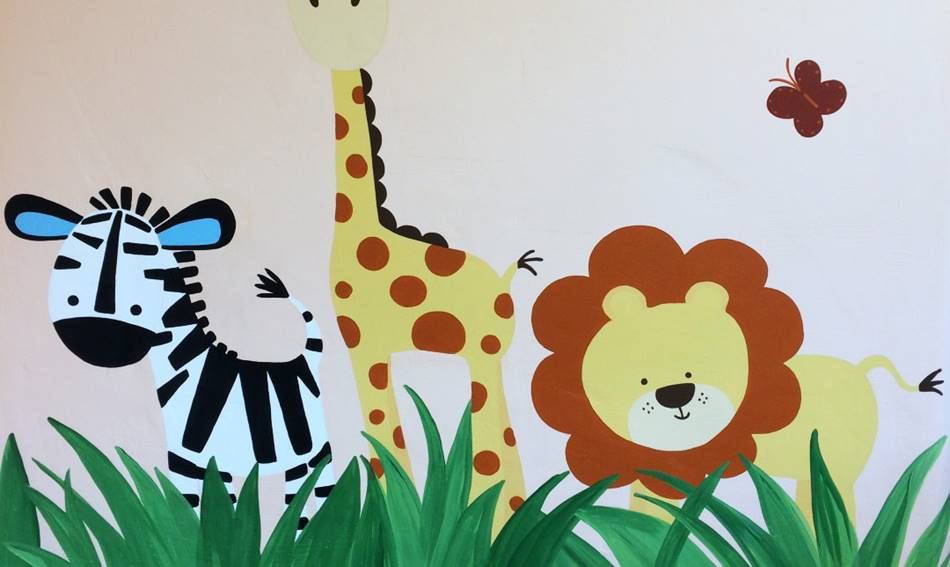 Jungle Animals Mural.JPG