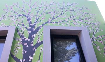 Blossomfield Infant School Tree Mural