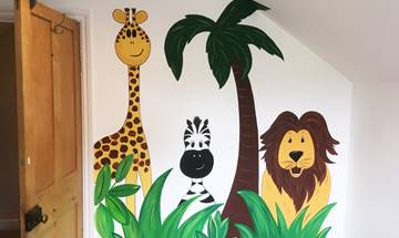 Fun Jungle Mural