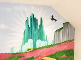 Wizard Of Oz Wall Art.JPG