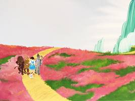 Yellow Brick Road Mural.JPG