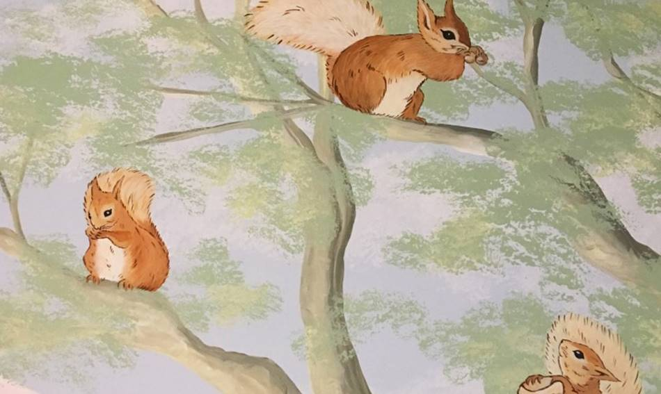 Bateix Potter Squirrels & Tree Mural.jpg