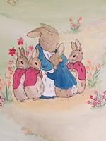 Mummy & Baby Bunnies Wall Mural.jpg