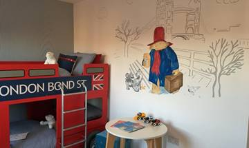 Paddington Bear Wall Mural