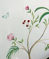 Rose Flower Butterfly Wall Mural.jpg