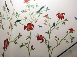 Tropical Chinoiserie Feature Wall Mural.jpg