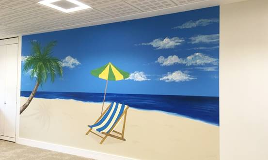 Syngenta Corporate Office Wall Mural