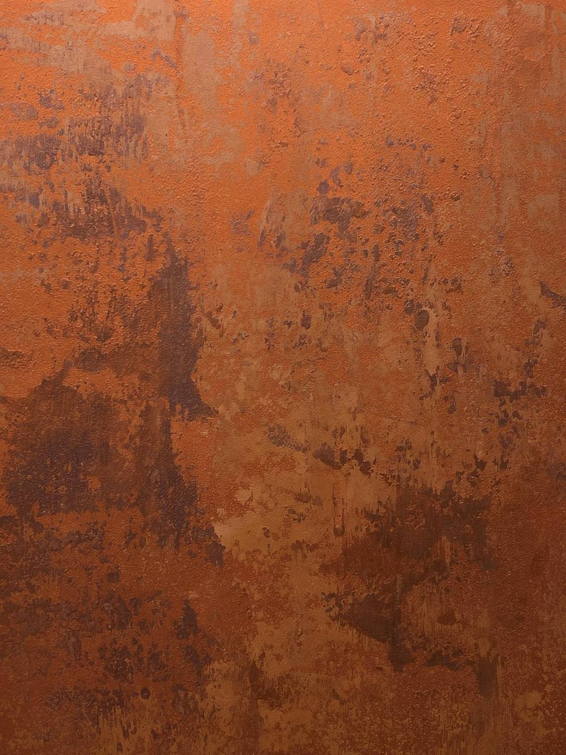 Burnished Copper Paint Effect