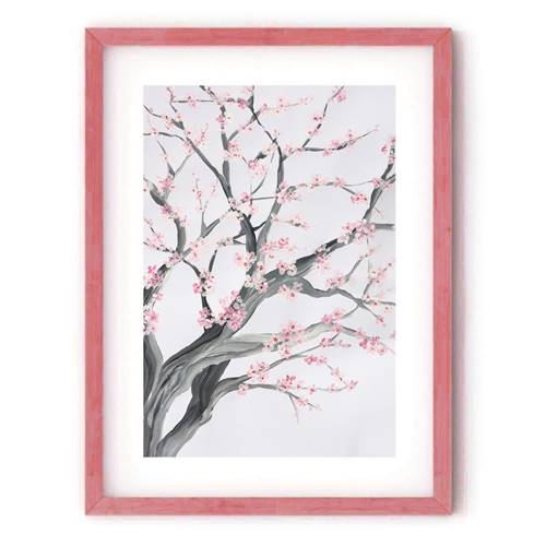 Cherry Blossom Limited Edition Fine Art Giclée Print Medium